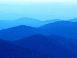 голубые холмы